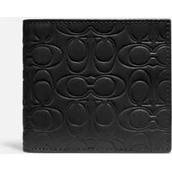 Double Billfold Wallet In Signature Leather in Black found on Bargain Bro UK from coach stores limited