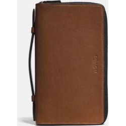 Double Zip Travel Organizer in Brown found on Bargain Bro UK from coach stores limited