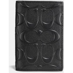 Bifold Card Case in Black found on Bargain Bro UK from coach stores limited