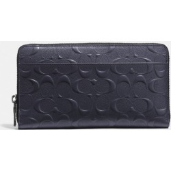 Document Wallet In Signature Leather in Blue found on Bargain Bro UK from coach stores limited