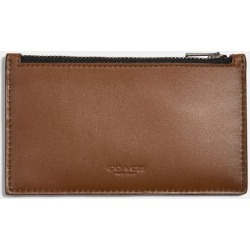 Zip Card Case in Brown found on Bargain Bro UK from coach stores limited