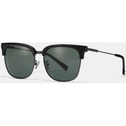 Retro Frame Sunglasses in Black - Size ONE found on Bargain Bro UK from coach stores limited