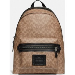 Academy Backpack In Signature Canvas in Beige/Brown found on Bargain Bro UK from coach stores limited