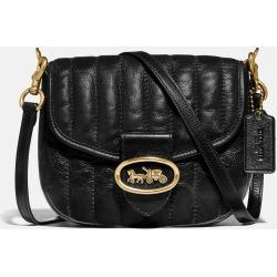 COACH Kat Saddle Bag 20 With Quilting - Women's