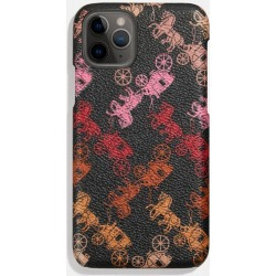 Iphone 11 Pro Case With Horse And Carriage Print in Black found on Bargain Bro UK from coach stores limited