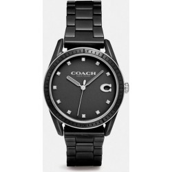 Preston Sport Watch, 36mm in Black - Size WMN found on Bargain Bro UK from coach stores limited