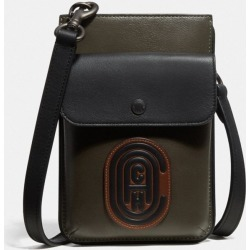 Hybrid Pouch In Colorblock With Patch in Multi found on Bargain Bro UK from coach stores limited