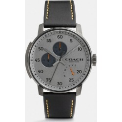 Bleecker Watch, 42mm in Black - Size MEN found on Bargain Bro UK from coach stores limited