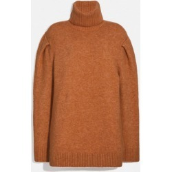 Statement Sleeve Turtleneck in Red - Size L found on MODAPINS from coach stores limited for USD $172.21