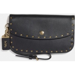 Clutch With Rivets in Black found on Bargain Bro UK from coach stores limited