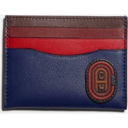 Card Case In Colorblock With Patch in Multi found on Bargain Bro UK from coach stores limited