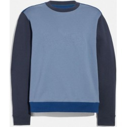 Pop Horse And Carriage Sweatshirt in Blue - Size L found on Bargain Bro UK from coach stores limited