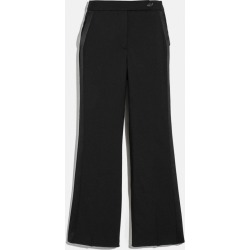 Tuxedo Flare Trousers in Black - Size 08 found on Bargain Bro UK from coach stores limited