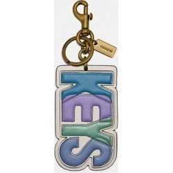 Keys Bag Charm in Blue found on Bargain Bro UK from coach stores limited