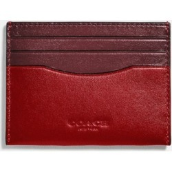 Card Case In Colorblock in Red found on Bargain Bro UK from coach stores limited