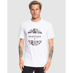 Quiksilver - Mens Maxed Prints T Shirt - T-Shirts & Singlets (White) Mens Maxed Prints T Shirt