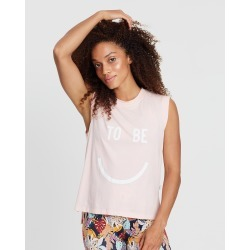 The Happy People Co. - Canyon Happy Tank - T-Shirts & Singlets (Pink) Canyon Happy Tank