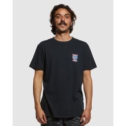 Quiksilver - Mens Animal Logo T Shirt - T-Shirts & Singlets (Black) Mens Animal Logo T Shirt