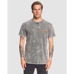 Quiksilver - Mens Lennox Guy T Shirt - Shirts & Polos (Black) Mens Lennox Guy T Shirt