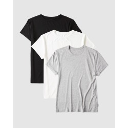 Boody Organic Bamboo Eco Wear - 3 Pack Crew Neck T Shirt - Short Sleeve T-Shirts (Mixed Colours) 3 Pack Crew Neck T-Shirt found on Bargain Bro Philippines from THE ICONIC for $73.89