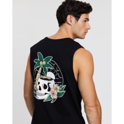 Staple Superior - Skull Muscle Tee - T-Shirts & Singlets (Black) Skull Muscle Tee