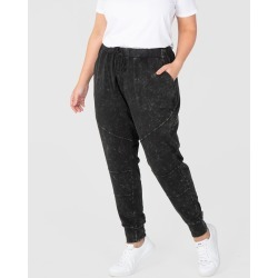 Love Your Wardrobe - Weekender Washed Pants - Sweats (Black) Weekender Washed Pants