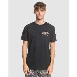 Quiksilver - Mens Lullaby Beach T Shirt - T-Shirts & Singlets (Black) Mens Lullaby Beach T Shirt