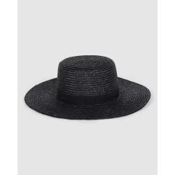 Billabong - Boater Straw Hat - Hats (BLACK) Boater Straw Hat