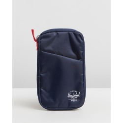 Herschel - Travel Wallet - Travel and Luggage (Navy & Red) Travel Wallet