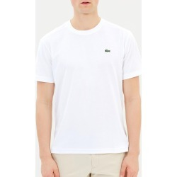 Lacoste - Basic Crew Neck Sport Tee - T-Shirts & Singlets (White) Basic Crew Neck Sport Tee found on Bargain Bro Philippines from THE ICONIC for $47.90