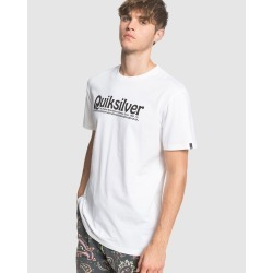 Quiksilver - Mens New Slang T Shirt - T-Shirts & Singlets (White) Mens New Slang T Shirt