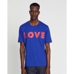 LOVE MOSCHINO - Love Tee - T-Shirts & Singlets (Blue) Love Tee
