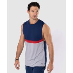 WPN. - Uppercut Tank - T-Shirts & Singlets (Navy) Uppercut Tank