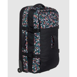 Roxy - Fly Away Too 100L Extra Large Wheeled Suitcase - Travel and Luggage (ANTHRACITE BOUQUET S) Fly Away Too 100L Extra Large Wheeled Suitcase