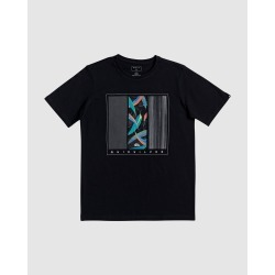 Quiksilver - Boys 8 16 Jungle Options T Shirt - T-Shirts & Singlets (Black) Boys 8-16 Jungle Options T Shirt