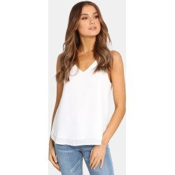 Madison The Label - Ava Tank Top - T-Shirts & Singlets (White) Ava Tank Top found on Bargain Bro Philippines from THE ICONIC for $34.21