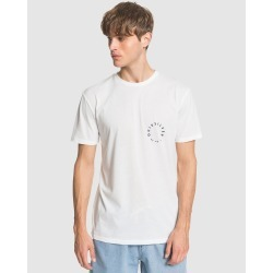 Quiksilver - Mens Higher Ground T Shirt - T-Shirts & Singlets (White) Mens Higher Ground T Shirt