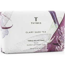 Thymes Clary Sage Tea Triple-Milled Soap 195g/7oz