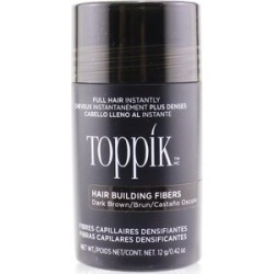 Toppik Hair Building Fibers - # Dark Brown 12g/0.42oz