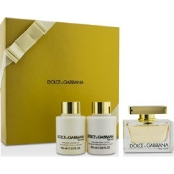 Dolce & Gabbana The One Coffret: Eau De Parfum Spray 75ml/2.5oz + Body Lotion 100ml/3.3oz + Shower Gel 100ml/3.3oz 3pcs found on Bargain Bro India from Strawberry Cosmetics for $119.50