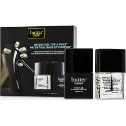 Butter London Patent Gel Top & Tails Set 2x11ml/0.4oz