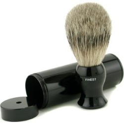 EShave Travel Brush Finest With Canister - Black 1pc