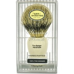 The Art Of Shaving Fine Badger Shaving Brush - Ivory 1pc found on MODAPINS from Strawberry Cosmetics for USD $133.00