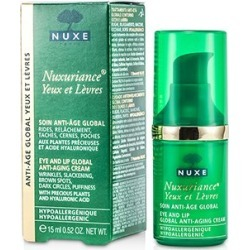 Nuxe Nuxuriance Eye And Lip Global Anti-Aging Cream 15ml/0.52oz found on Bargain Bro India from Strawberry Cosmetics for $49.50