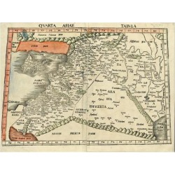Art Print: Ptolemy's Israel and Arabia, 24x18in. found on Bargain Bro India from Allposters.com for $37.99