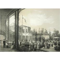 Giclee Painting: Meier's The Railway Station in Pavlovsk, 1840-1850, 2