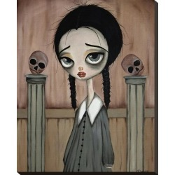 Stretched Canvas Print: Gleason's Wednesday Child, 24x19in. found on Bargain Bro from Allposters.com for USD $69.53
