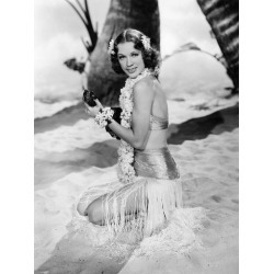 """Stretched Canvas Print: Eleanor Powell. """"Honolulu"""" [1939], Directed by"""