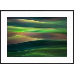 Framed Art: Abresch's Rolling Hills, 21x29in.