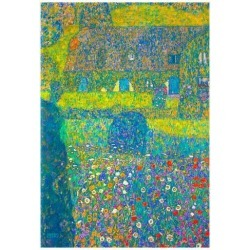 Poster: Gustav Klimt House in Attersee Art Print Poster, 19x13in. found on Bargain Bro from Allposters.com for USD $6.83